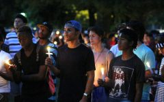 Students attend Black Lives Matter vigil