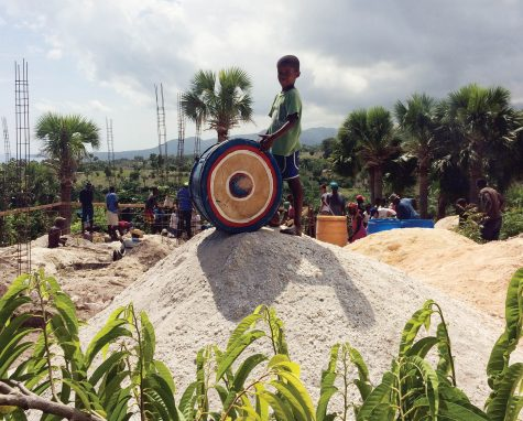 Students spend summer building school for a Haitian village