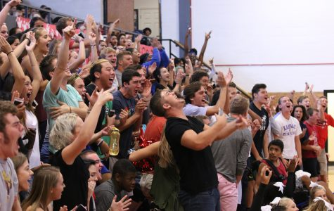 Students fall back in to school pride