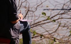 Clubs team up for a nature sketch hike