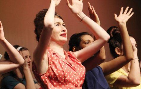 Senior Reaches for Future in Theater