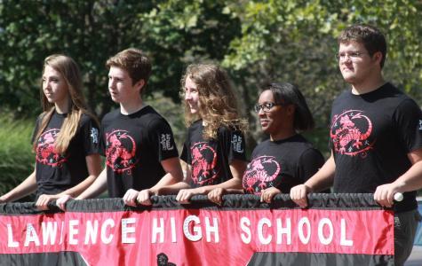 PHOTOS: Homecoming Parade heads down Mass