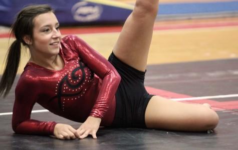 PHOTOS: Gymnasts celebrate senior night