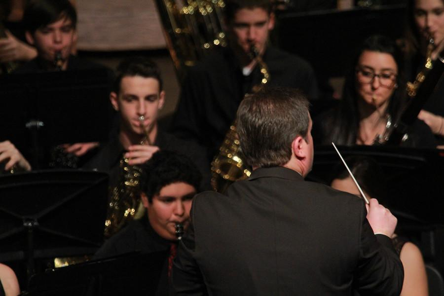 Photos: Band performs February concert