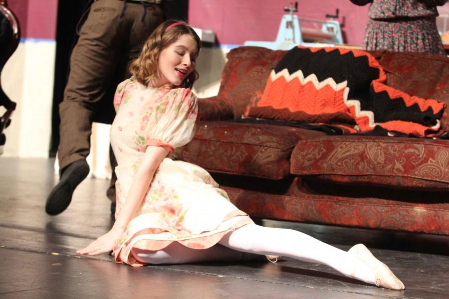 Junior Crosby Dold plays Essie Carmichael, an aspiring ballerina who is tragically, rhythmically challenged.