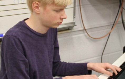 Sophomore excels at piano, math