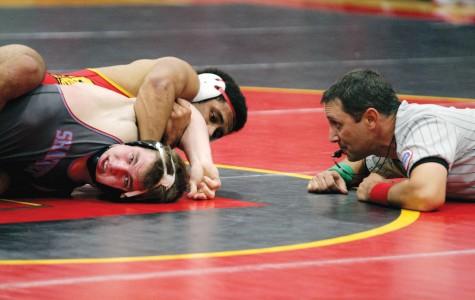 Senior takes wrestling title