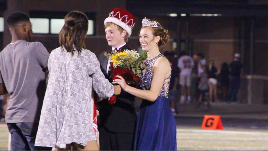 Homecoming crowning 2016