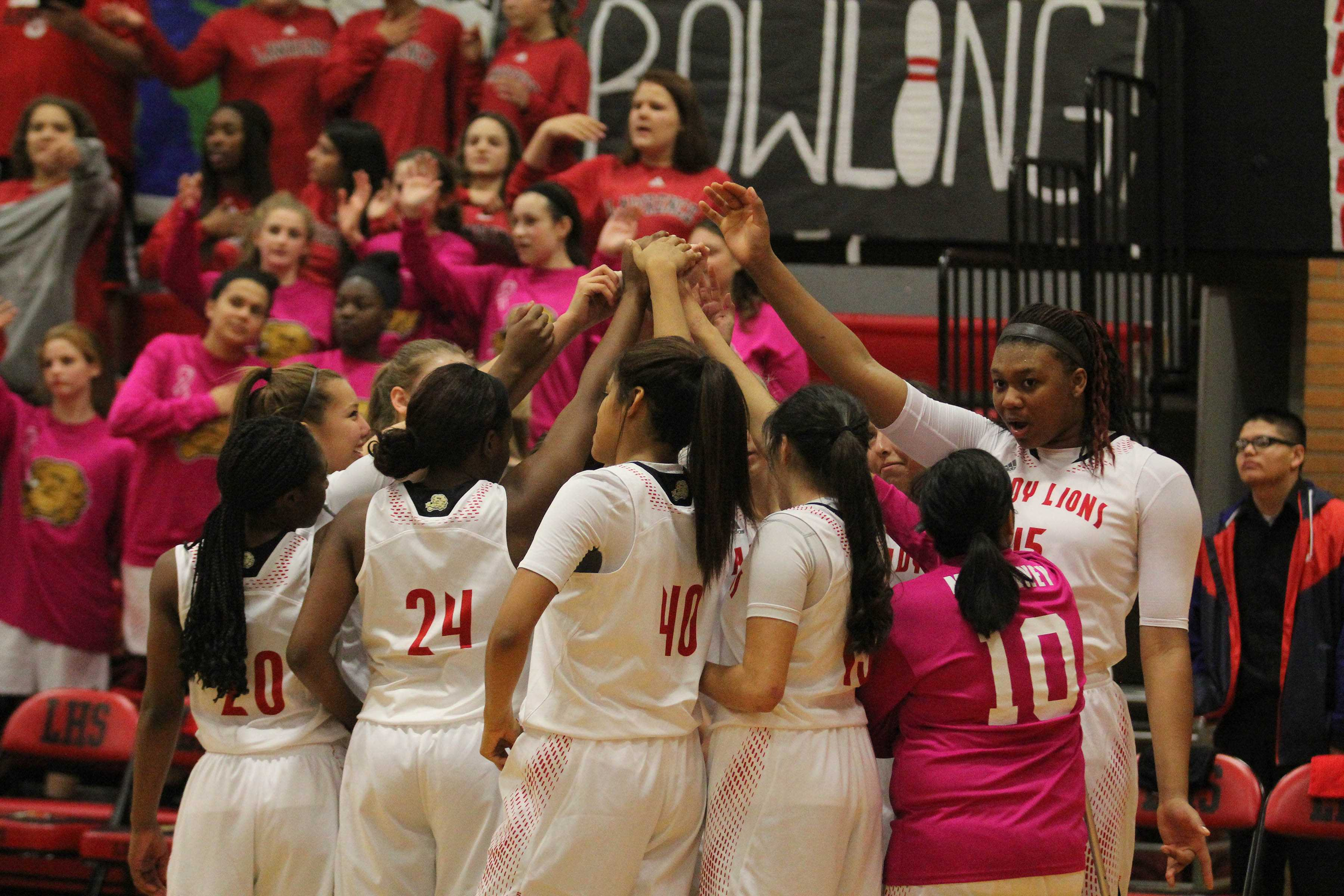 The Lady Lions will face Olathe South Thursday in the first round of the state tournament.