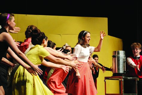 Curtain goes up on winter musical Friday