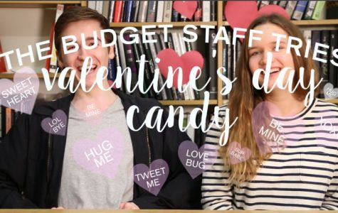 VIDEO: The Budget staff tries Valentine's day candy