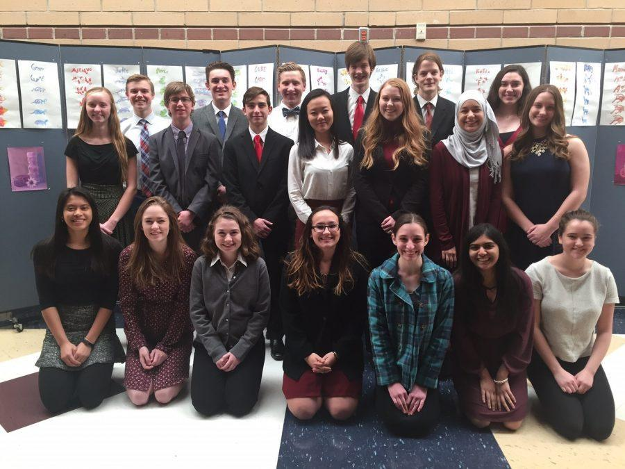 AP students compete at National History Day. Photo courtesy of Valerie Schrag
