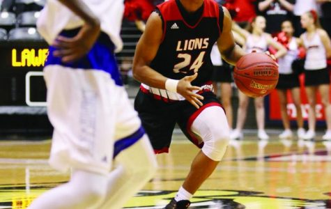 Basketball Player Remaining a Lion