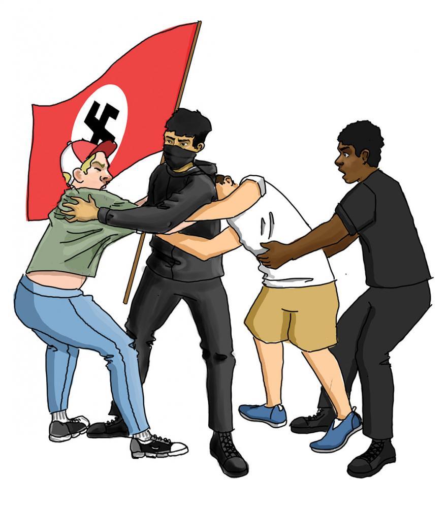 No 'fine' Nazis