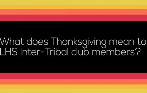 """Thanksgiving"" word association with LHS Inter-Tribal club"