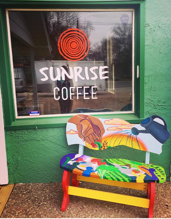 Sunrise Coffee involves student internships and informs about the principles of the Sunrise Project. Sunrise Coffee is not officially open, but will  be open sometime in February.
