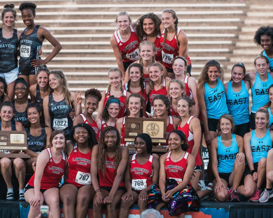 Girls track wins first at state championship