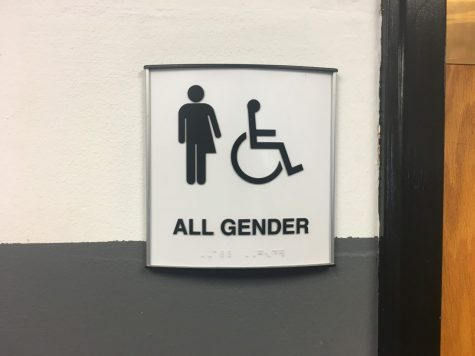 All Gender restroom being used for skipping class