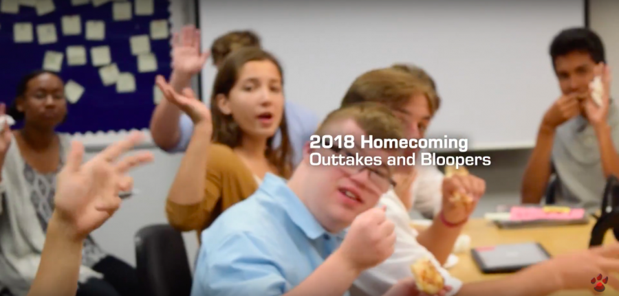 2018 Homecoming -Outtakes and Bloopers