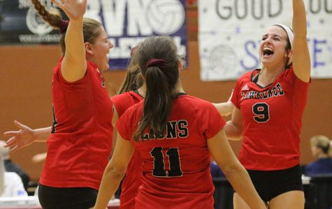 Girls volleyball wins state championship; ends 16-year dry spell