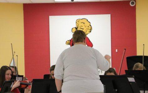 Orchestra puts on a Lawrence High Oktoberfest
