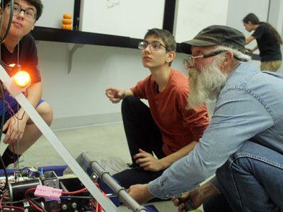 Robotics team receives grant