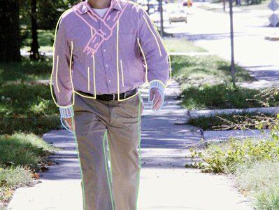 Teacher Jack Hood walks everywhere because he hates driving