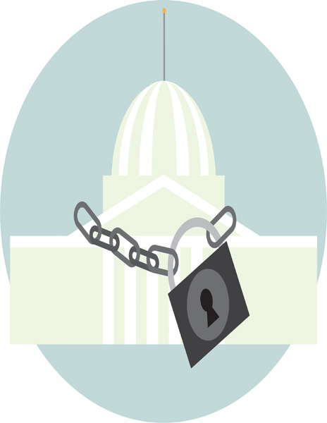 Government shutdown leans heavily on debate moving forward