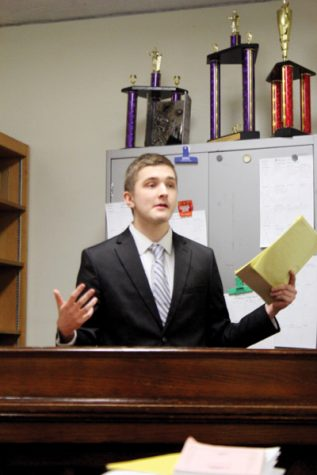 Freshman takes on leadership role of secretary at Topeka Model UN