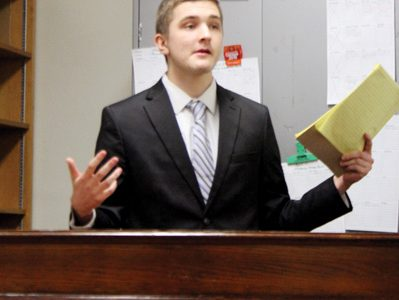 Students plan to travel to a new national forensics tournament