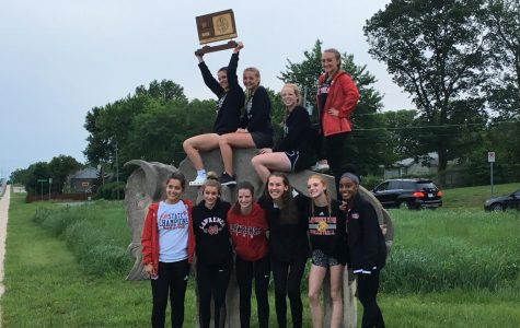 Girls track and field secure second state title in a row