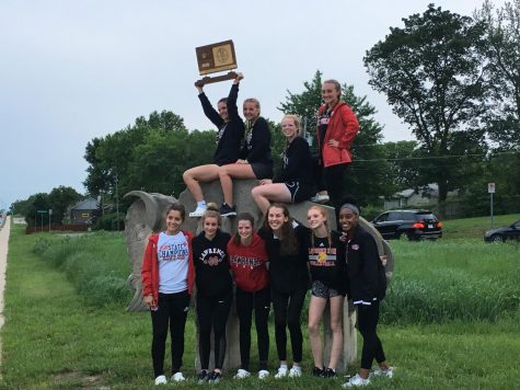 Girls take track and field regional championship