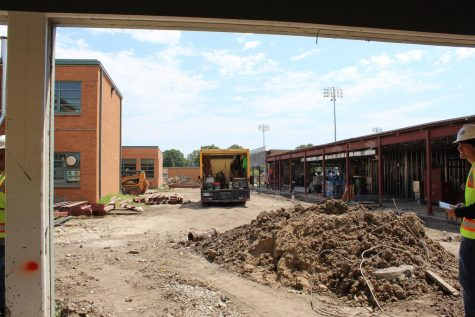 Construction seeks to fix chronic issues with Carl Knox facilities