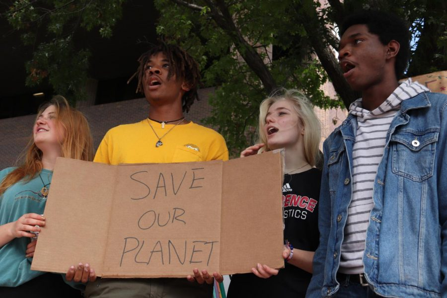 Behind the Lens: Climate Strike Protest