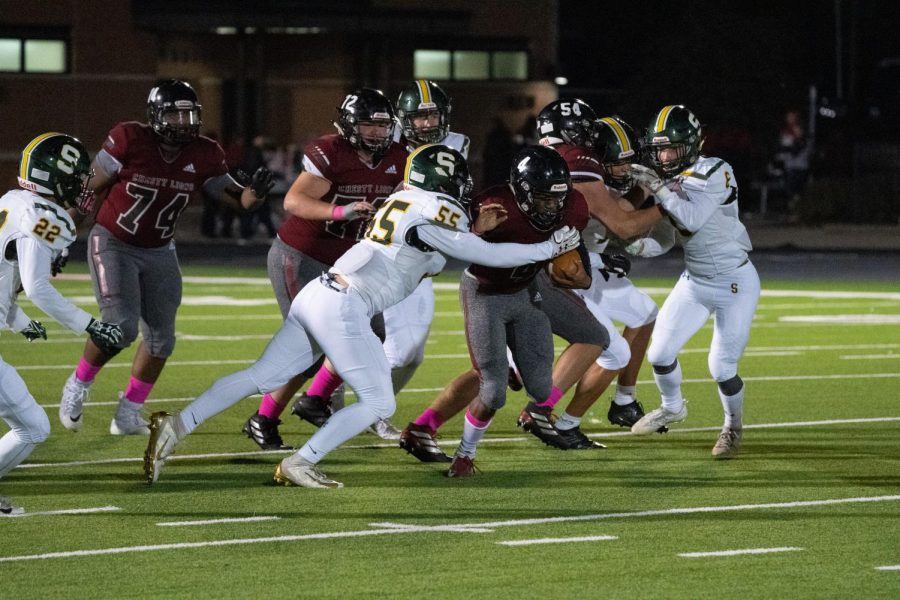 Undefeated streak continues against Shawnee Mission South Raiders