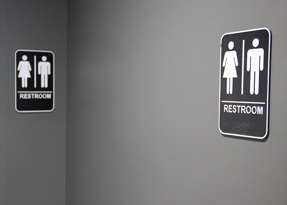 Students now have access to two single-person gender neutral restrooms in the newly opened part of the main building