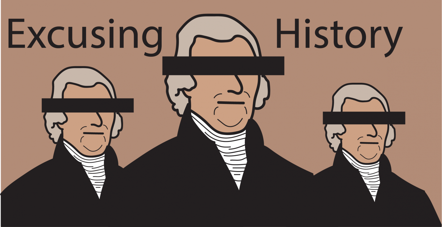 Although the founding fathers of America are usually seen in a positive light, we can't forget their ugly histories