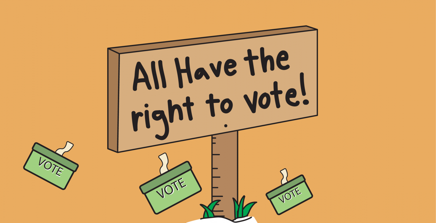 Different states deal with felons voting in different ways, but all felons should have the right to vote