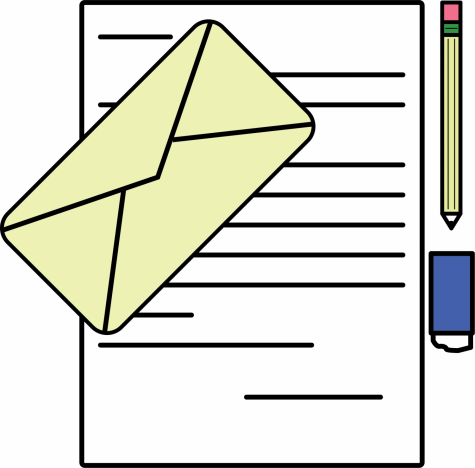 Letter writing is making a return for some students trying to stay in touch while social distancing