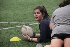 Student starts girls rugby team