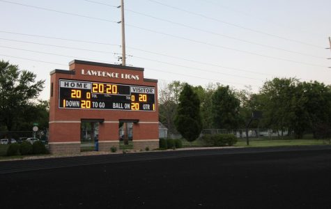 At the start of what would have been graduation week, the lights switched on at the Lawrence High School football stadium on Monday at 8:20 p.m. — or 20:20 in military time to honor the class of 2020. The lights remained on for 20 minutes. The same stadium lighting is planned for Tuesday and Wednesday.