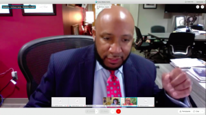Superintendent Dr. Anthony Lewis passionately argues on why the district should move ahead with hybrid learning. The school board approved the motion with a 4-3 vote.