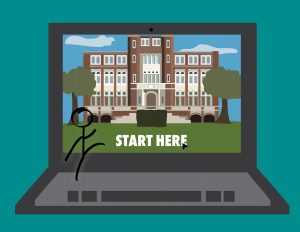 Students visit colleges over spring break