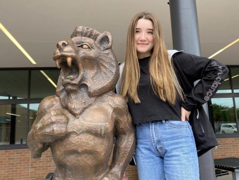 Benni Romito has completed her year-long exchange student trip at Lawrence High School. Romito is from Italy.