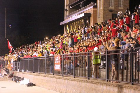 Home stands switch to east side of football stadium