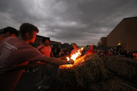 Homecoming celebrations off to a blazing start