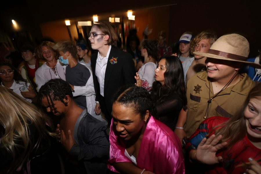 Homecoming week comes to an end with costumed dance