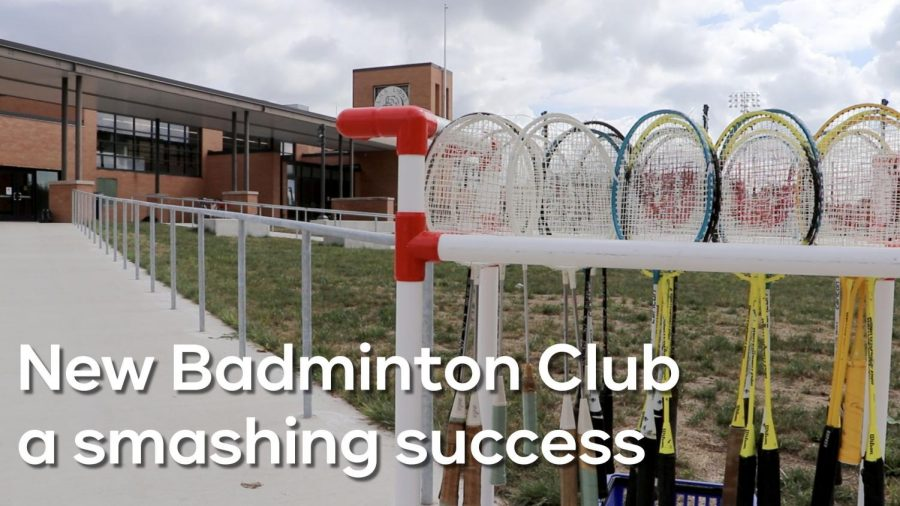 New LHS badminton club a smashing success