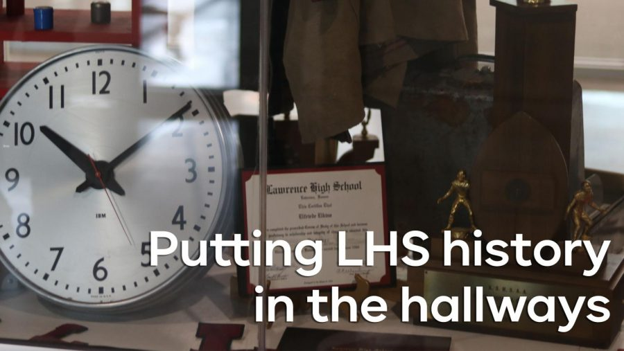 How LHS teachers are displaying the school's history in the hallways